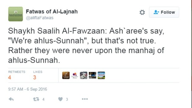 fatwas-of-al-lajnah-on-twitter-shaykh-saalih-al-fawzaan-asharee-s-say-we-re-ahlus-sunnah-but-that-s-not-true-rather-they-were-never-upon-the-manhaj-of-ahlus-sunnah